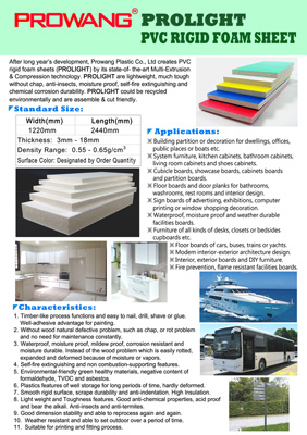 Composite Panel, Sandwich Panel , PROLIGHT / PVC RIGID FOAM SHEET / CELUKA SHEET
